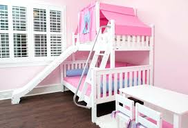 Bunk Bed With Slide And Tent Bed With Slide Bunk Bed With Slide Bedroom Castle Tent