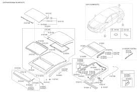 sunroof for 2014 hyundai sonata hyundai parts deal
