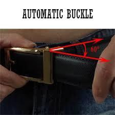 belt buckle allergy elmer men s ratchet dress genuine leather belts with gold