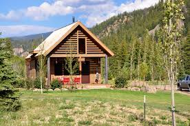 new owners mountain homes and cabins completed colorado ranch cabin porch