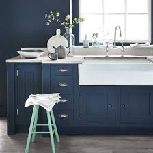 Blue Kitchen Sink Kitchen With Navy Blue Island Also White Kitchen Sink Plus