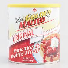 Pancake Flour Carbon U0027s Golden Malted Pancake U0026 Waffle Flour World Market