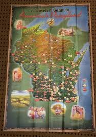 Wisconsin Winery Map by Wisconsin Wine Uncharted