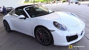 porsche stuttgart 2017 porsche 911 targa 4s exterior walkaround porsche drive