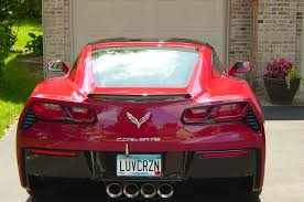corvette vanity plates c7 personalized plate thread page 51