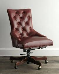 tufted leather desk chair tufted leather office chair traditional tufted leather office chair