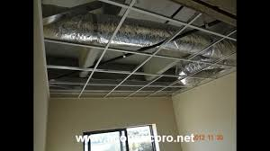 Ceiling Tile Installation Acoustical Drop Ceiling Tile Grid Install Acoustic Pro
