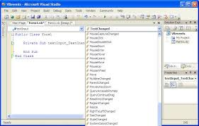 visual basic for loop understanding visual basic events techotopia