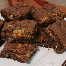german chocolate caramel bars recipe