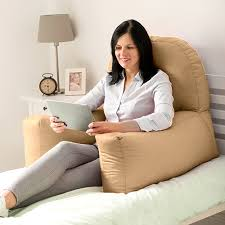support pillow for reading in bed chloe bed reading bean bag cushion arm rest back support pillow rest