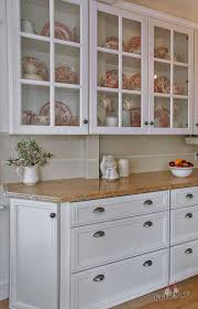 glass kitchen cabinet doors only how to utilize glass front cabinets in your kitchen glass