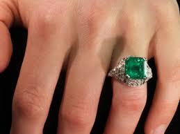 art deco diamond ring with spectacular 6 28 crt colombian muzo