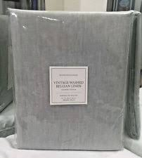restoration hardware vintage washed belgian linen shower curtain