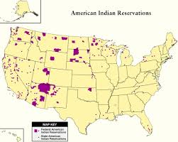 map usa indian reservations national congress of american indians and partner to map