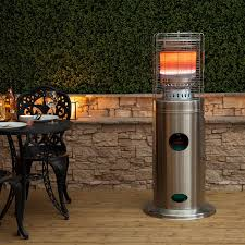 Patio Heater Gas Bottle by Bullet Stainless Steel Floor Standing Gas Patio Heater
