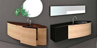 the new bathroom vanities completed with sink decoration from