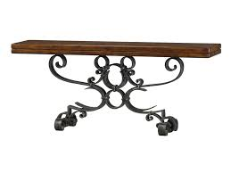 theodore alexander console table theodore alexander classic yet casual 5311 033 iron console table