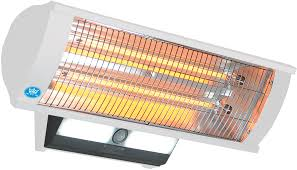 quartz patio heater prem i air electric 2 kw bracket mounted patio heater maplin