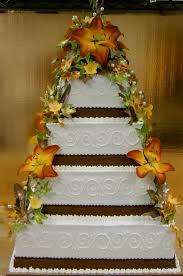 fall themed wedding cake by the evil plankton on deviantart
