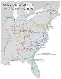 csx railroad map service start up and integration csx com