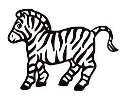 nice zebra coloring page best coloring book id 2957 unknown