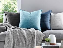 morgan u0026 finch odessa cushion range of colours the block shop