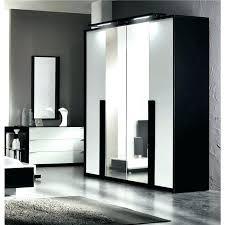 armoir de chambre meuble penderie chambre armoires portes miroir mobilier sur armoire