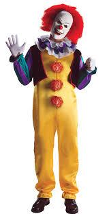 clown jumpsuit pennywise it killer clown jumpsuit mask costume standard