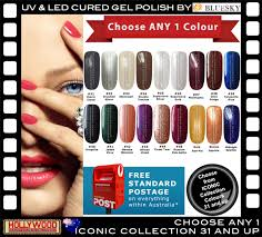 1x bluesky gel polish 10ml iconic collection 31 45 soak off
