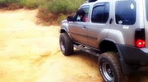 nissan xterra lift kit 2003 lifted 4x4 xterra off road youtube