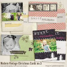 modern christmas cards modern vintage christmas cards 3 7th modernchristmas3 4 00