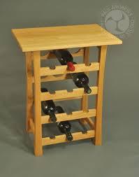 wine rack side table wine side table