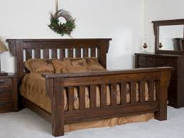 Stylish Bedroom Furniture by Rustic Bed Frames For Stylish Bedroom U2014 Furniture Ideas
