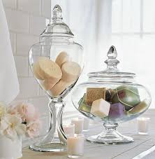 Bathroom Glass Storage Jars Jars Of Soap New House Pinterest Jar Soap Display And Display