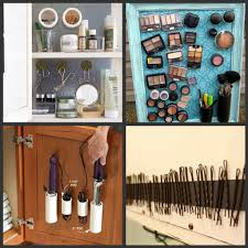 Bathroom Makeup Storage Ideas Best Way To Organize Makeup And Hair Products Magnetic Strips