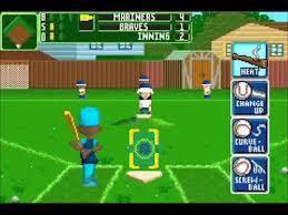 Backyard Baseball Ps2 Sports Gbafun Is A Website Let You Play Retro Gameboy Advance