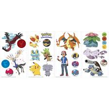 pokemon xy characters images pokemon images room mates popular characters pokemon xy wall decal rzm2801