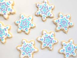 snowflake cookies snowflake cookie sugar cookie decorating easy beginner royal icing