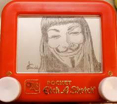 173 best etch a sketch images on pinterest etch a sketch sketch
