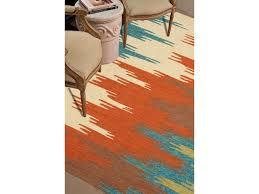 Orange And Blue Area Rug Jaipur Rugs Floor Coverings Indoor Outdoor Tribal Pattern