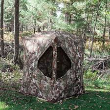 Tree Trunk Hunting Blind Go Big With Barronett Blinds Supertough Hunting Blind In