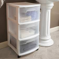 Plastic Bathroom Storage Bathroom Storage Drawers On Wheels Drawer Design