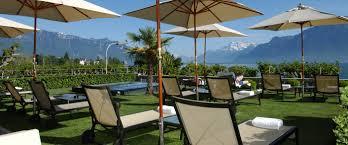 hôtel des trois couronnes luxury hotel in lake geneva switzerland