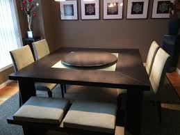 lazy susan dining table dining table with lazy susan awesome low profile wood for inside 18