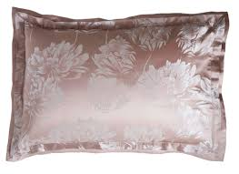 peony vintage pink silk luxury bed linen gingerlily