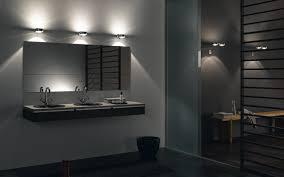 bathroom lighting above mirror home design