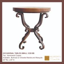 Small Round Tables by 060 Occasional Side Round Small Table Iron Base Chocolate Finish