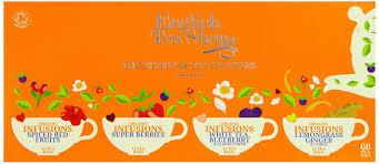 tea shop collection of tea infusions 60 tea