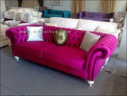 Pink Sofa Com Pink Sofa On Sale Couch Pinterest Velvet Chesterfield Sofa