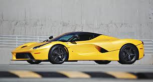 ferrari yellow this unique yellow laferrari could be yours for 4 million